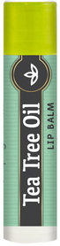Piping Rock Tea Tree Oil Lip Balm 0.15oz Tube