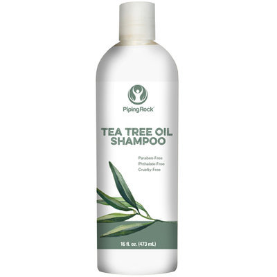 Piping Rock Tea Tree Oil Shampoo 16 oz Liquid