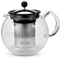 Bodum Assam Glass Tea Press Stainless Steel Filter 1lt