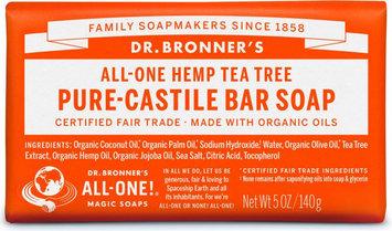 Dr. Bronner's All-One Hemp Tea Tree Pure - Castile Bar Soap