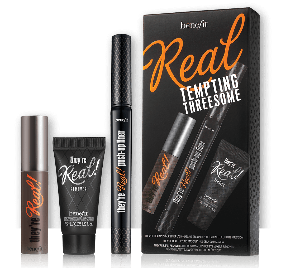 Benefit Cosmetics Real Tempting Threesome