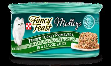 Fancy Feast® Tender Turkey Primavera Wet Cat Food With Garden Veggies & Greens In A Classic Sauce