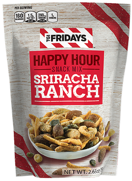 TGI Fridays Happy Hour Snack Mix Sriracha Ranch