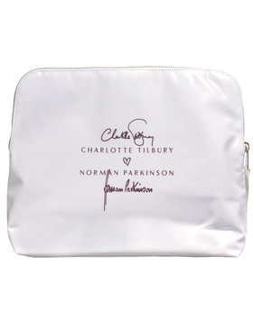 Charlotte Tilbury Limited Edition Jerry Hall 'Bathing Beauty' Makeup Bag - Charlotte Tilbury x Norman Parkinson Collection