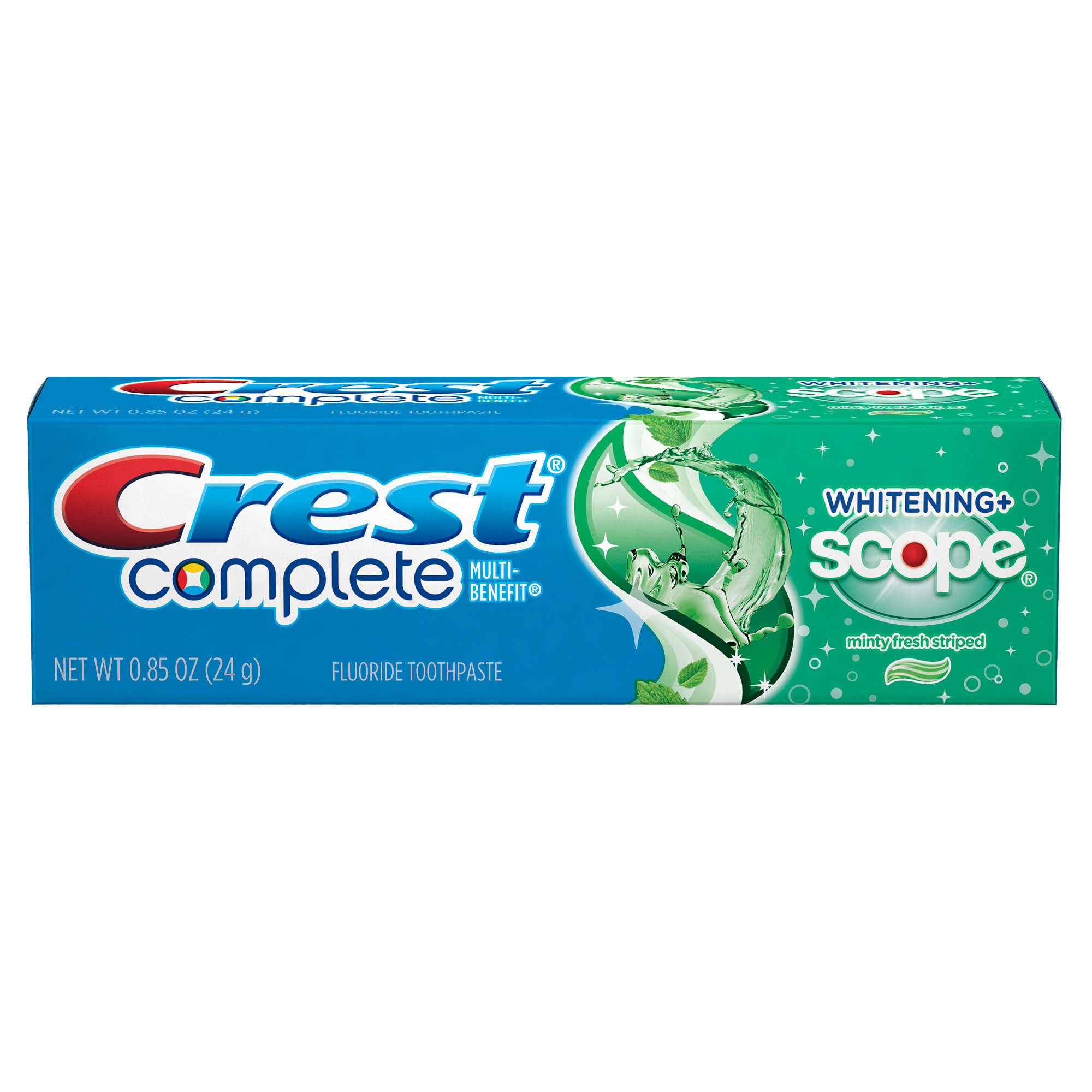 Crest Complete Whitening Plus Scope Toothpaste