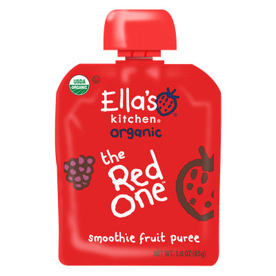 Ella's Kitchen® Organic the red one Smoothie Fruit