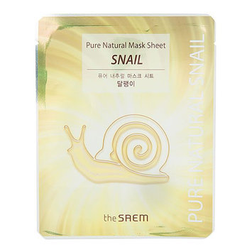 The Saem Pure Natural Snail Sheet Mask
