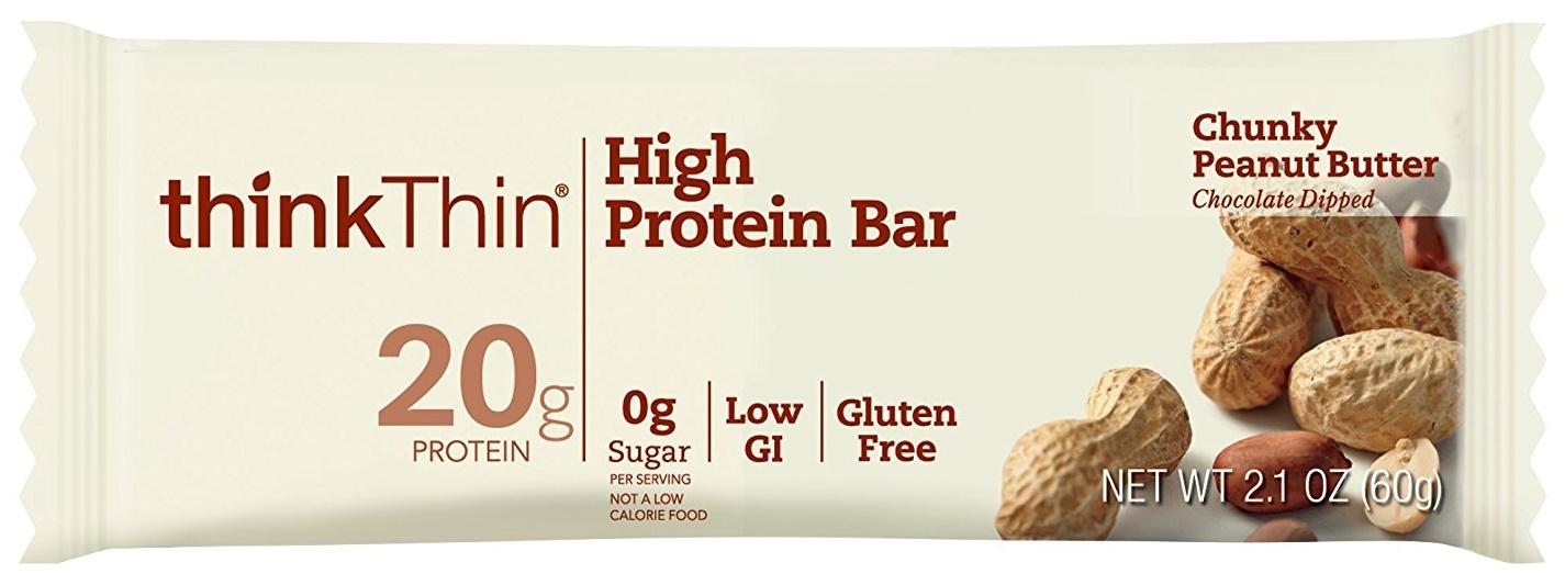 thinkThin Chunky Peanut Butter High Protein Bar