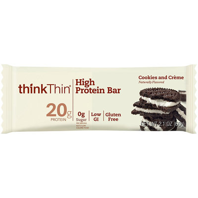 thinkThin Cookies & Creme High Protein Bar