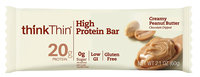 thinkThin Creamy Peanut Butter High Protein Bar