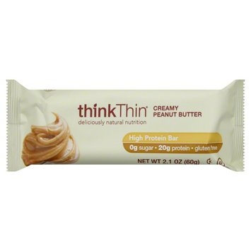 thinkThin High Protein Bar Peanut Butter