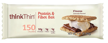 thinkThin Protein & Fiber Bar S'mores