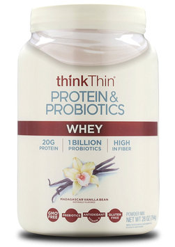 thinkThin Protein & Probiotics Madagascar Vanilla Bean Whey