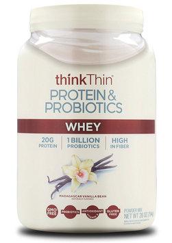 thinkThin Protein & Probiotics Madagascar Vanilla Bean Whey
