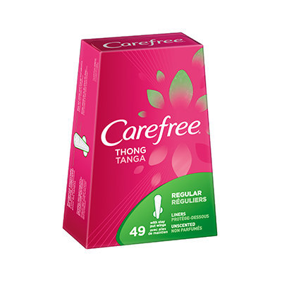 Carefree® Thong Liners