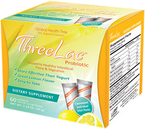 Global Health Trax ThreeLac Probiotic