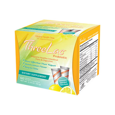 Global Health Trax ThreeLac Probiotic