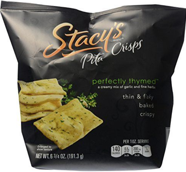 Stacy's® Perfectly Thymed Pita Crisps Baked