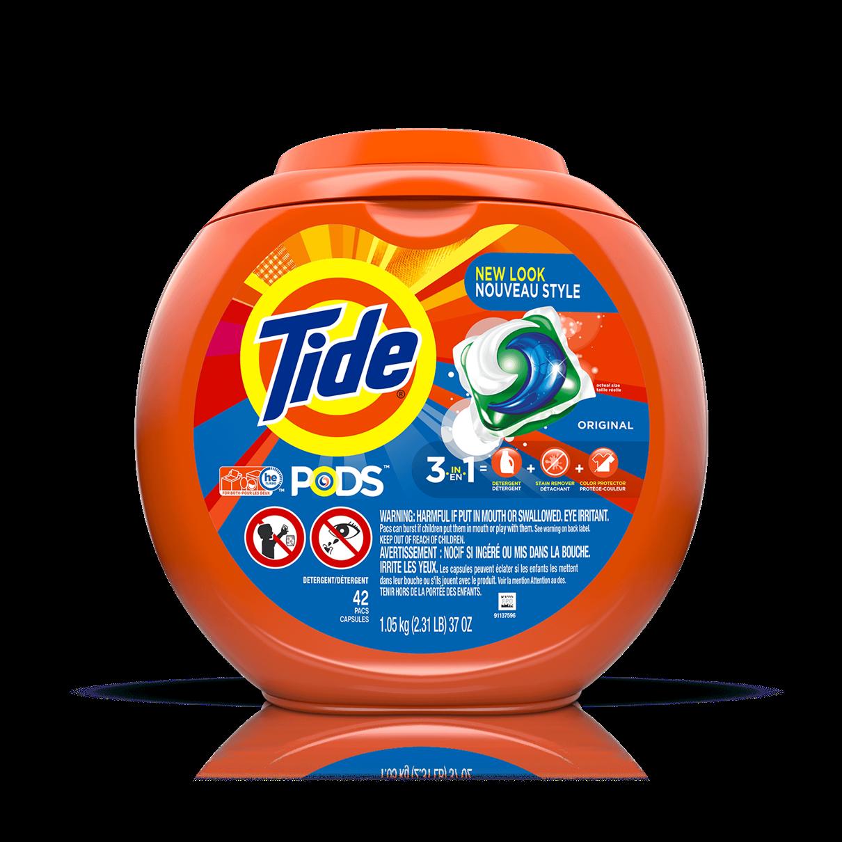 Tide PODS® Laundry Detergent Original Scent