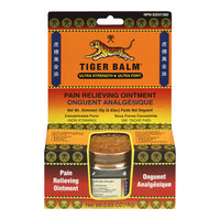 Tiger Balm Pain Relieving Ointment, Ultra Strength, 18 g