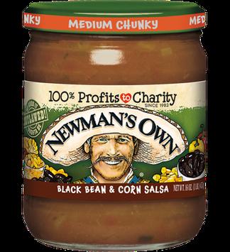 Newman's Own Black Bean & Corn Medium Salsa