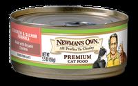 Newman's Own Organics Premium Chicken & Salmon Cat Food