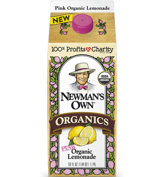Newman's Own Pink Organic Lemonade