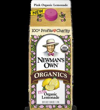 Newman's Own Pink Organic Lemonade
