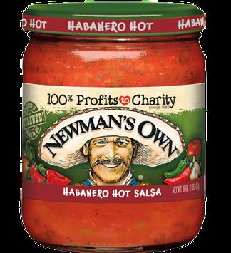 Newman's Own Habanero Hot Salsa