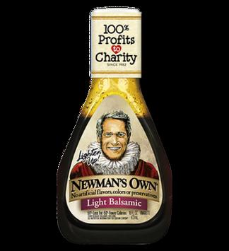 Newman's Own Own Light Balsamic Salad Dressing
