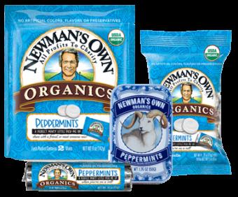 Newman's Own Organics Peppermint Mints
