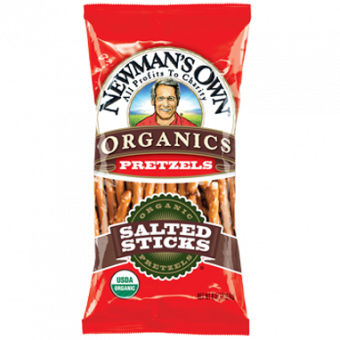 Newman's Own Organics Salted Pretzel Sticks