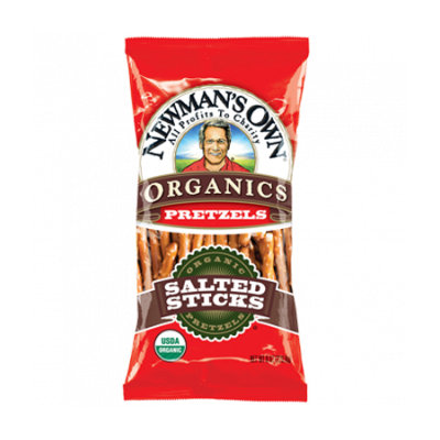 Newman's Own Organics Salted Pretzel Sticks