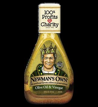 Newman's Own Olive Oil & Vinegar Dressing