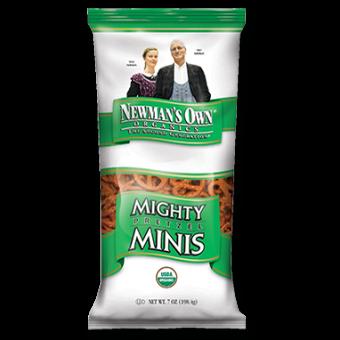 Newman's Own Organics Mighty Minis Pretzels