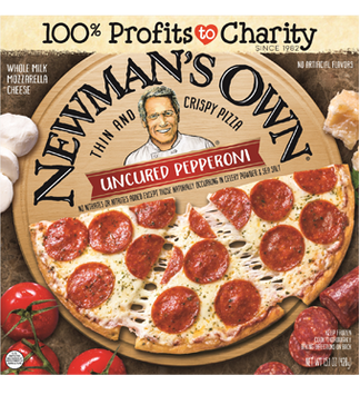 NEWMAN'S OWN® Uncured Pepperoni Thin & Crispy Pizza