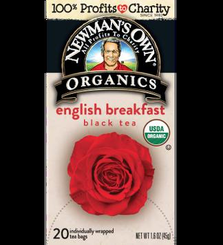 Newman's Own Organic English Breakfast Tea