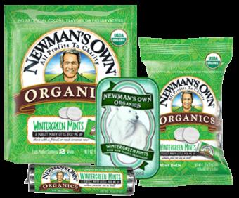Newman's Own Organics Wintergreen Mints