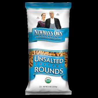 Newman's Own Organics Unsalted Pretzel Round