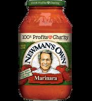 Newman's Own All Natural Marinara Pasta Sauce