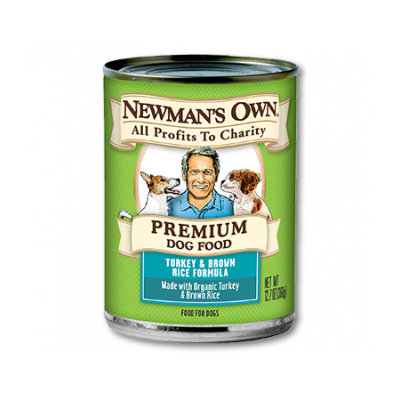 Newman's Own Organics Premium Dog Food Turkey & Brown Rice Formula