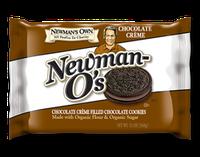 Newman's Own Organics Newman O's Chocolate Creme Filled Chocolate Cookies