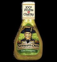 Newman's Own Lite Lime Vinaigrette Dressing