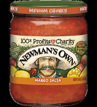 Newman's Own Mango Medium Salsa