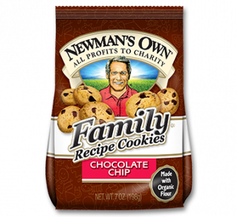 Newman's Own Organics Family Recipe Cookies Chocolate Chip