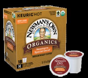 Newman's Special Decaf  Medium Roast K-Cups
