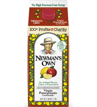 Newman's Own All Natural Virgin Pomegranate Lemonade