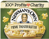 Newman's Own Movie Theater Butter Microwave Popcorn
