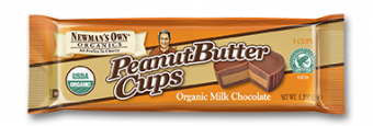 Newman's Own Organics Milk Chocolate Peanut Butter Cups