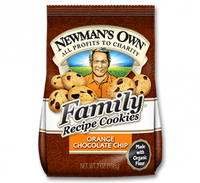 Newman's Own Organics Family Recipe Orange Chocolate Chip Cookies